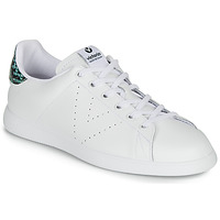 Scarpe Donna Sneakers basse Victoria TENIS PIEL SERPIENTE Bianco / Blu