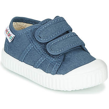 Scarpe Unisex bambino Sneakers basse Victoria BASKET VELCRO Blu