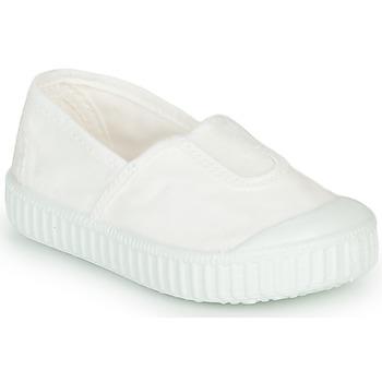 Scarpe Bambina Sneakers basse Victoria CAMPING TINTADO Bianco