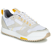 Scarpe Donna Sneakers basse Reebok Classic CL LEATHER RIPPLE T Beige / Bianco