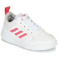 Scarpe Bambina Sneakers basse adidas Performance TENSAUR K Bianco / Rosa