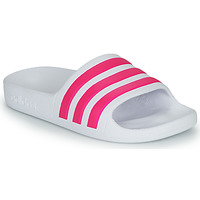 Scarpe Bambina ciabatte adidas Performance ADILETTE AQUA K Bianco / Rosa