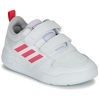 Scarpe Bambina Sneakers basse adidas Performance TENSAUR C Bianco / Rosa
