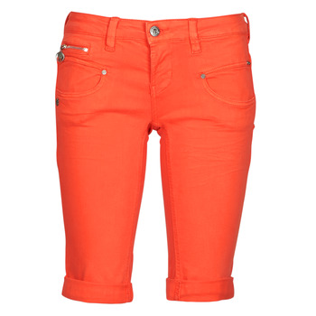 Abbigliamento Donna Shorts / Bermuda Freeman T.Porter BELIXA NEW MAGIC COLOR Arancio