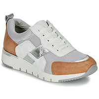 Scarpe Donna Sneakers basse Caprice  Bianco / Camel