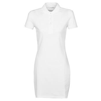 Abbigliamento Donna Abiti corti Lacoste EUGENIE Bianco