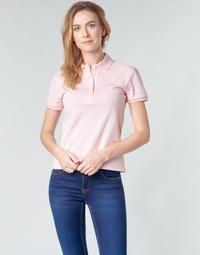 Abbigliamento Donna Polo maniche corte Lacoste PH5462 SLIM Rosa