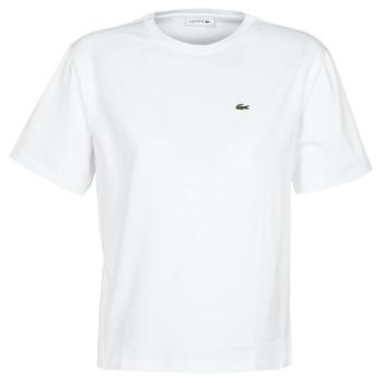 Abbigliamento Donna T-shirt maniche corte Lacoste BENOIT Bianco