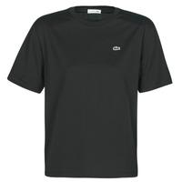 Abbigliamento Donna T-shirt maniche corte Lacoste  Nero