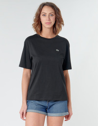 Abbigliamento Donna T-shirt maniche corte Lacoste BERNARD Nero