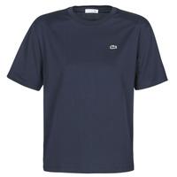 Abbigliamento Donna T-shirt maniche corte Lacoste  Marine