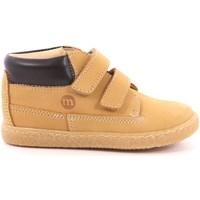Scarpe Unisex bambino Sneakers alte Melania 533 - ME0941A9I.A Giallo Ocra