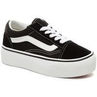 Scarpe Unisex bambino Sneakers basse Vans Kids UY Old Skool Platform nero