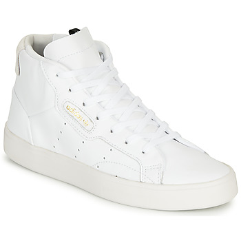 Scarpe Donna Sneakers alte adidas Originals adidas SLEEK MID W Bianco