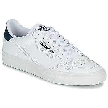 Scarpe Sneakers basse adidas Originals CONTINENTAL VULC Bianco