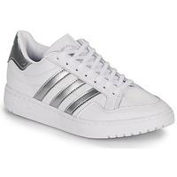 Scarpe Donna Sneakers basse adidas Originals MODERN 80 EUR COURT W Bianco / Argento