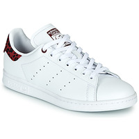 Scarpe Donna Sneakers basse adidas Originals STAN SMITH W Bianco / Bordeaux