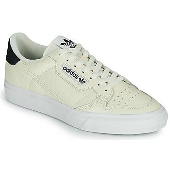 Scarpe Sneakers basse adidas Originals CONTINENTAL VULC Beige