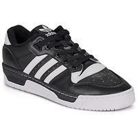 Scarpe Sneakers basse adidas Originals RIVALRY LOW Nero / Bianco