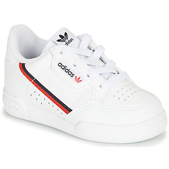 Scarpe Unisex bambino Sneakers basse adidas Originals CONTINENTAL 80 I Bianco