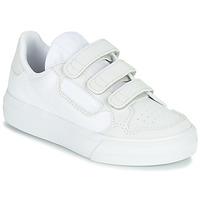 Scarpe Unisex bambino Sneakers basse adidas Originals CONTINENTAL VULC CF C Bianco / Beige