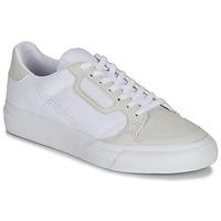 Scarpe Unisex bambino Sneakers basse adidas Originals CONTINENTAL VULC J Bianco / Beige