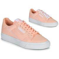 Scarpe Bambina Sneakers basse adidas Originals CONTINENTAL VULC J Rosa