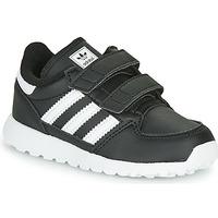 Scarpe Unisex bambino Sneakers basse adidas Originals FOREST GROVE CF I Nero