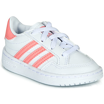 Scarpe Bambina Sneakers basse adidas Originals NOVICE EL I Bianco / Rosa