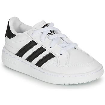 Scarpe Unisex bambino Sneakers basse adidas Originals NOVICE EL I Bianco / Nero