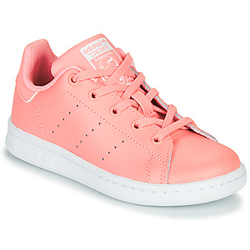 Scarpe Bambina Sneakers basse adidas Originals STAN SMITH C Rosa