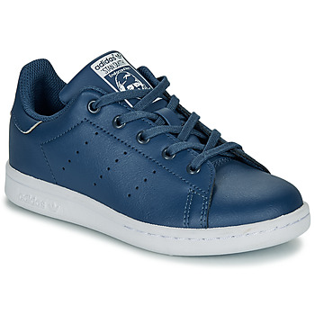 Scarpe Bambino Sneakers basse adidas Originals STAN SMITH C Blu