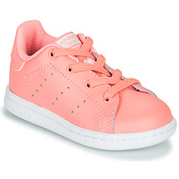 Scarpe Bambina Sneakers basse adidas Originals STAN SMITH EL I Rosa