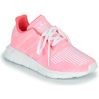 Scarpe Bambina Sneakers basse adidas Originals SWIFT RUN J Rosa