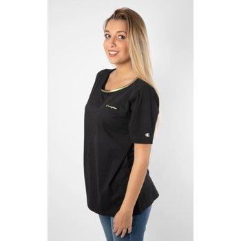 Abbigliamento Donna T-shirt maniche corte Champion T-Shirt Donna Lady Tee Nero