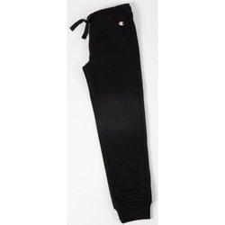 Abbigliamento Unisex bambino Pantaloni da tuta Champion Pantaloni Bambina Con Polsino Nero