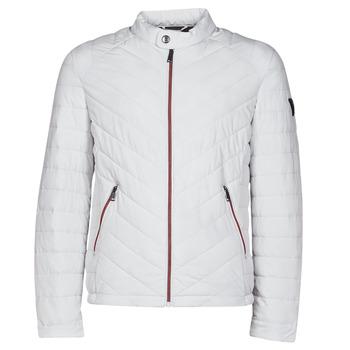 Abbigliamento Uomo Piumini Guess SUPER FITTED JKT TRAVEL Bianco