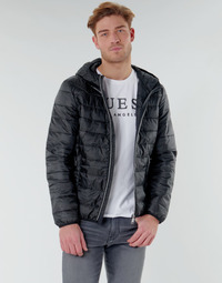 Abbigliamento Uomo Piumini Guess SUPER LIGHT ECO-FRIENDLY JKT Nero