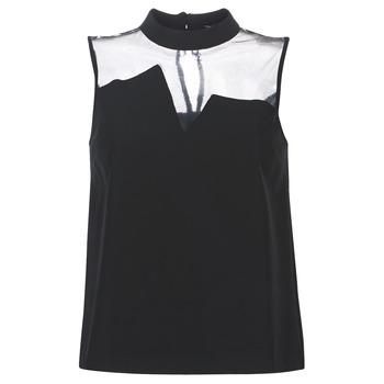 Abbigliamento Donna Top / Blusa Guess SL MAYA TOP Nero