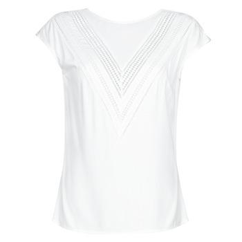 Abbigliamento Donna Top / Blusa Guess SS MALIKA TOP Bianco