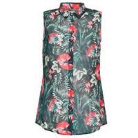 Abbigliamento Donna Top / Blusa Guess SL CLOUIS SHIRT Nero / Verde / Rosso
