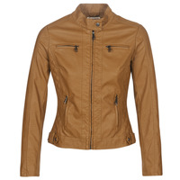Abbigliamento Donna Giacca in cuoio / simil cuoio Moony Mood DUIR Camel