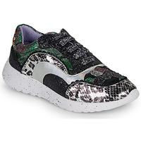 Scarpe Donna Sneakers basse Irregular Choice JIGSAW Nero / Argento