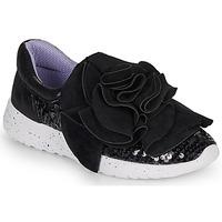 Scarpe Donna Sneakers basse Irregular Choice RAGTIME RUFFLES Nero