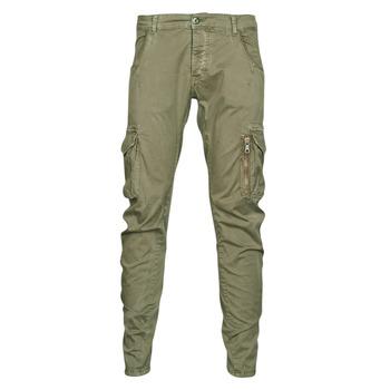 Abbigliamento Uomo Pantalone Cargo Le Temps des Cerises ALBAN Kaki