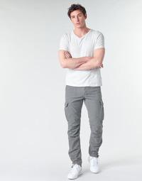 Abbigliamento Uomo Pantalone Cargo Le Temps des Cerises MIRADO Gunmetal