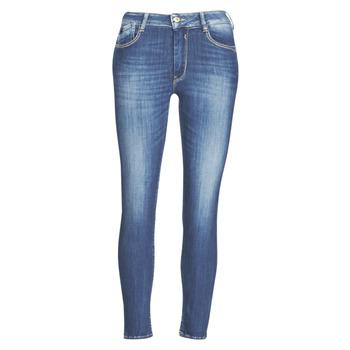 Abbigliamento Donna Jeans slim Le Temps des Cerises PULP SLIM TAILLE HAUTE 7/8 Blu