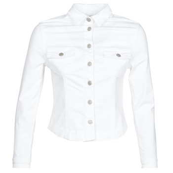 Abbigliamento Donna Giacche in jeans Le Temps des Cerises LILLY Bianco
