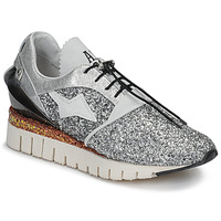 Scarpe Donna Sneakers basse Airstep / A.S.98 DENASTAR Argento / Glitter