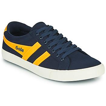 Scarpe Uomo Sneakers basse Gola VARSITY Marine / Giallo